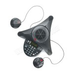Polycom SoundStation 2EX With 2 external microphones